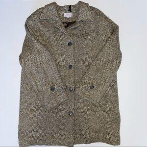 VTG Orvis Wool Car Coat Insulated Goosedown 14